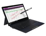 Das neue 2-in-1-Gerät kombiniert die Leistung eines vollausgestatteten Notebooks mit der Flexibilität eines Tablets. (Bild: Toshiba)