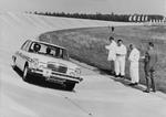 Am 11. September 1968 drehte das erste fahrerlose Testfahrzeug seine Runden auf der Teststrecke von Continental. (Bild: Continental)