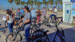 Die Radtour bot eine entspannte Gelegenheit, die anderen Teilnehmer kennenzulernen (Bild: Netgo)