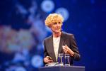 Microsoft-Deutschland-Chefin Sabine Bendiek gab den rund 2.500 angereisten Partnern einen Ausblick, wo die Reise hingeht (Bild: Microsoft)