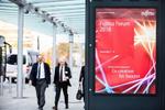Schauplatz des Fujitsu Forums 2018 war wie schon seit Jahren das Münchner Messegelände (Bild: Fujitsu)