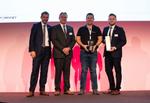 Esko-Systems wurde als »Newcomer of the Year« geehrt (Foto: Fortinet)