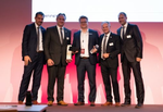 Die Auszeichnung als »Mid-Market Partner of the Year« ging an Bechtle (Foto: Fortinet)