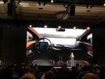 Das junge Unternehmen zeigte erstmals das digitale Innenleben seines Elektro-SUVs (Bild: CRN)
