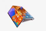 Zusammengeklappt bietet das Gerät ein 6,6 Zoll großes Display auf der einen und ein 6,38 Zoll großes Display auf der anderen Seite. (Foto: Huawei)