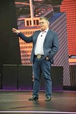 Vom Scheitel bis zur Sohle tritt HP-Chef Dion Weisler fast durchgängig im texanischen Look in Houston auf. Nur der Hut fehlt. Der stehe ihm nicht, sagt der CEO.  (CRN)