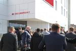 Großer Andrang am Firmensitz von Securepoint in Lüneburg zum Partner-Event des Security-Herstellers (Foto: Securepoint)