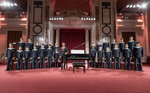 Opentext begrüßt seine Konferenz-Teilnehmer mit einem Auftritt der Wiener Sängerknaben in der Wiener Hofburg