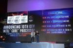 Gregory Bryant, Senior Vice President und General Manager von Intels Client Computing Group bei der Vorstellung der neune Intel-CPUs auf der Computex (Bild: Intel)