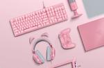 Die Quartz Collection von Razer kommt in auffälligem Pink daher (Foto: Razer)