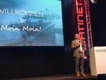 Nuvias-Deutschlandchef Helge Scherff bei seiner Keynote (Foto: CRN)