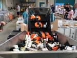HP sammelt verbrauchte Druckerpatronen europaweit ein und lässt sie bei seinem Recycling-Partner PDR im fränkischen Thurnau wiederverwerten. (Bild: CRN)...