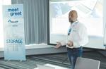 Sascha Müller vom Speicherhersteller Micron informiert über das Neueste aus dem Speichermarkt (Foto: DexxIT)