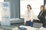 Die Vertriebschefinnen Judith Öchsner (links) und Stefanie Gundlach geben eine Überblick über die Geschäftsentwicklung von DexxIT (Foto: DexxIT)