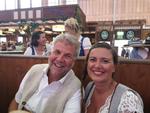 Natürlich mit dabei: Markus Korn und Aline Gauthier von Samsung