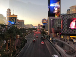40 Grad und mehr. Muss das sein? Konnten wir nicht an einen klimatisch günstigeren Ort pilgern? Laut Aussagen von Microsoft ist es um diese Jahreszeit in Las Vegas günstig.(Bild: Stephan Viehoff)