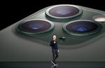 Apple-Chef Tim Cook bei der Präsentation der neuen iPhone-Modelle (Bild: Apple)