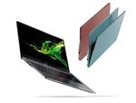 Acer hat seine Ultraslim-Serie »Swift« um zwei neue 14-Zoll-Notebooks mit Intels aktuellsten 10-Nanometer-Prozessoren »IceLake« erweitert. (Foto: Acer)