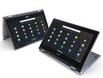 Mit drei neuen Geräten, darunter das Convertible  »Acer Chromebook Spin 311«, baut Acer sein Chromebook-Sortiment weiter aus. (Foto: Acer)