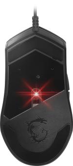...verfügt über einen PixArt PAW3327 Sensor, der bis zu 6.200 DPI abtastet (Foto: MSI)