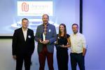 Christian Mehrtens von One Unity Consulting nahm den Preis für den größten Deal entgegen. (Bild: Easy Software)