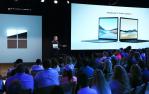 Panos Panay, Chief Product Officer der Microsoft Corporation, präsentiert die Surface-Neuheiten. (Bild: Microsoft)...