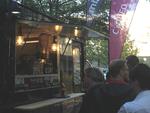Mit seinem Food Truck kam Mimecast direkt zu seinen Partnern, ... (Foto: Mimecast)