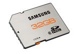 Speicherkarten mit bis zu 32 GByte Kapazität