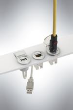 Service-Schnittstellen für Ethernet und USB