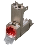 Cat.6A-konformes Anschlussmodul mit LED-Tracing-Funktion