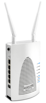 11n-Access-Point mit simultanem Dualband-Betrieb