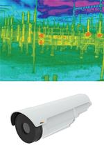 IP-Wärmbildkamera löst Temperaturalarme aus