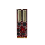 Single- und Dual-Gigabit-Netzwerkmodule für den M.2-Slot