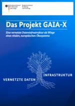 Das Cover der Broschüre des BMWi zu Gaia-X macht die Kernziele deutlich.