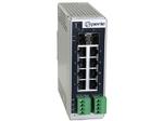 Gigabit Switch mit LWL- oder Kupfer-Uplink sowie PoE bis 100 W/Port