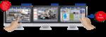 Video-Management-Plattform für Hunderte IP-Kameras