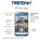 IP-Videoüberwachung mit Smartphone und Tablet