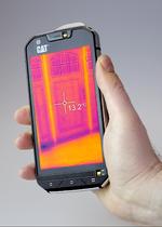 Wärmebildkamera-Smartphone vereinfacht Wartung und Notfalleinsatz