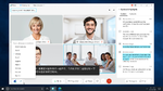 Virtuelle Meetings mit Live-Übersetzung und Gestensteuerung
