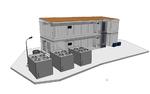 Rechenzentrum mit 200 kW Leistung