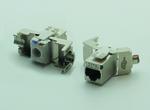 Cat.6A-Keystone-Modul lässt sich werkzeugfrei konfektionieren