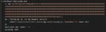 """Bild 1. Nachdem die """"getarnte"""" Version von PowerShell bereitstand, führte die Malware im ersten Schritt einen verschlüsselten Befehl (hier zur Sicherheit unkenntlich gemacht) aus."""