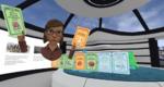 Die VR-Brille versetzt die Personen in das Kontrollzentrum, wo sie ihre Teams als Avatare in einem Modell der Anlage sehen.