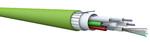 CPR-konforme Kabel mit hoher Faseranzahl für Innen- und Außenbereich