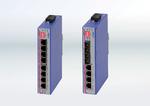 EKS Engel: Schmale Gigabit-Switches mit optischen Ports
