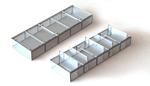 Siemon: Aktive Kaltgang-Einhausung mit selbstöffnenden Dachplatten