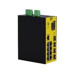 KTI bringt Industrie-Switch mit vier dualen Glasfaser-Ports