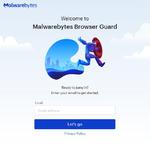 Kostenloser Browser Guard von Malwarebytes
