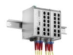 Mehr PoE-Leistung für Industrie-Switches