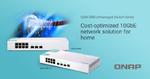 QNAP: Switches für 10GbE-Verbindungen im SOHO-Umfeld